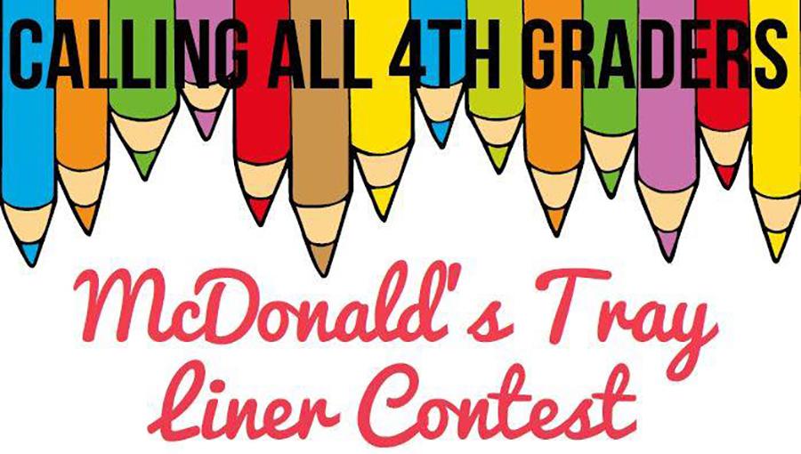 McDonald's Tray Liner Contest