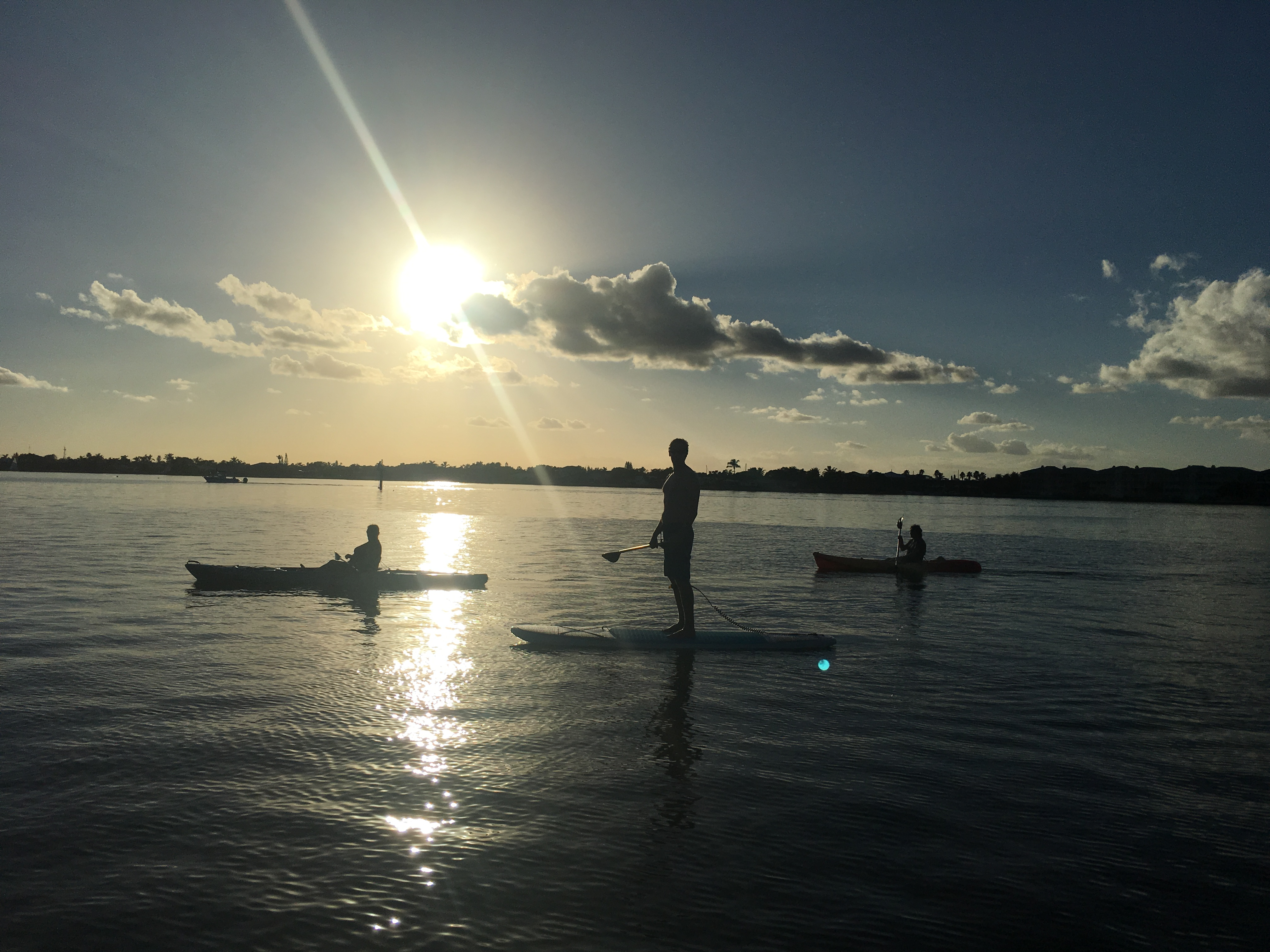 Sunset Paddle Board And Kayak Tour