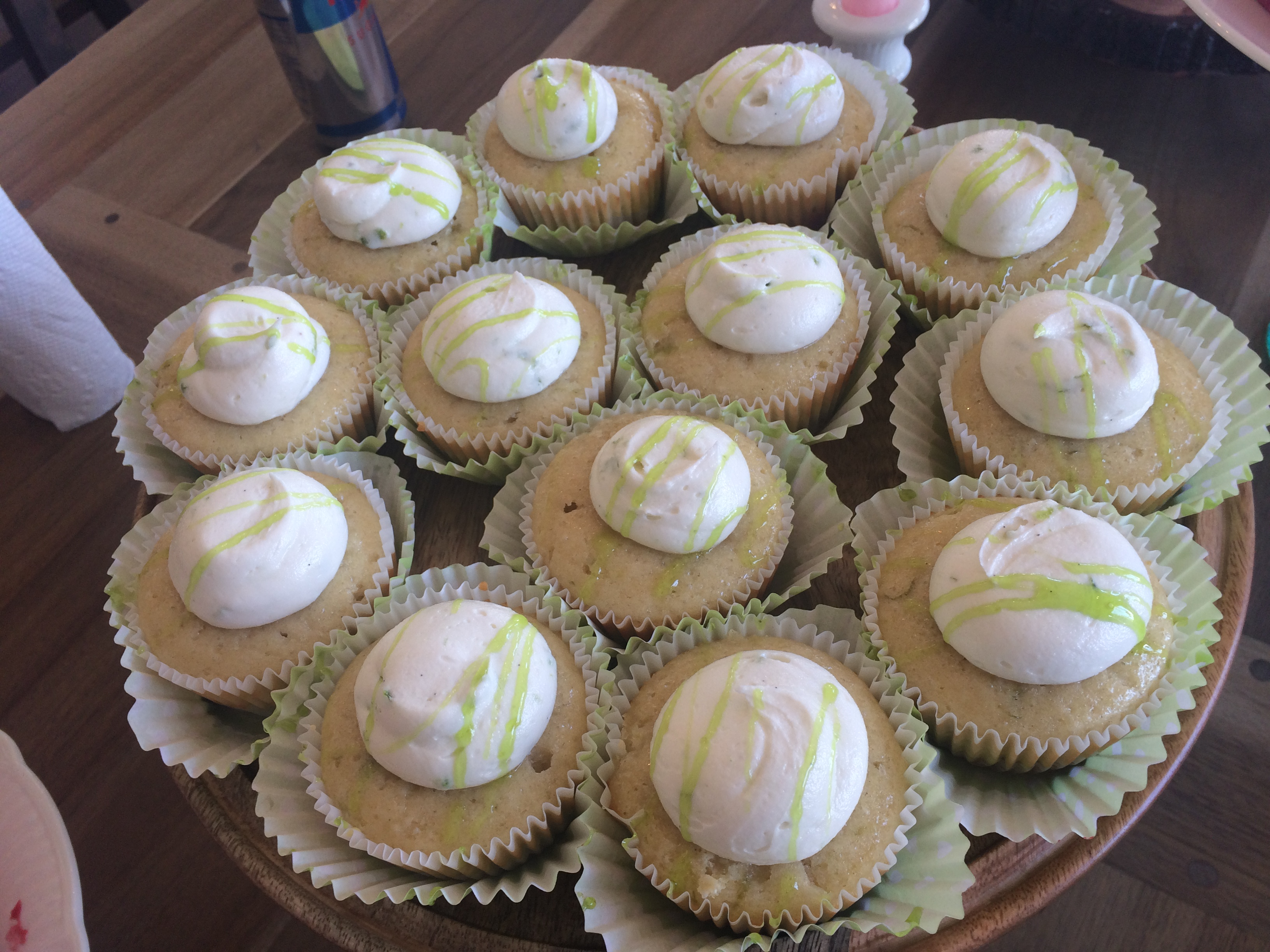 Key Lime Cupcakes Photo